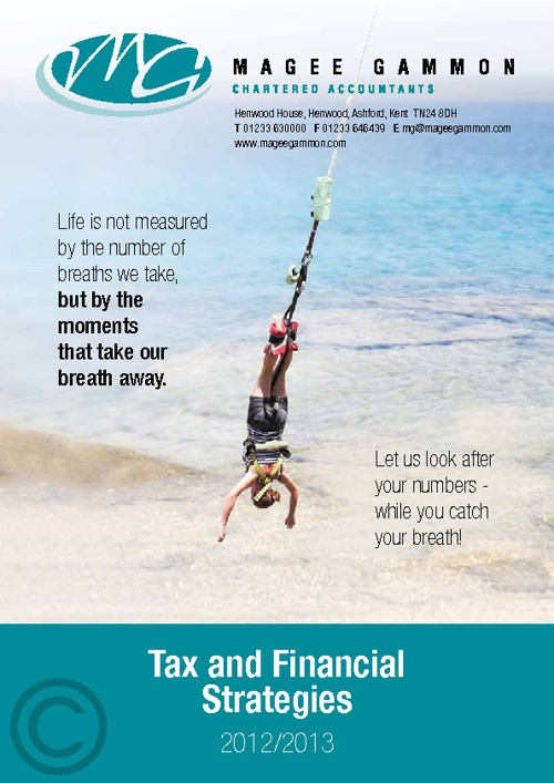 Tax & Financial Strategies 2012-13