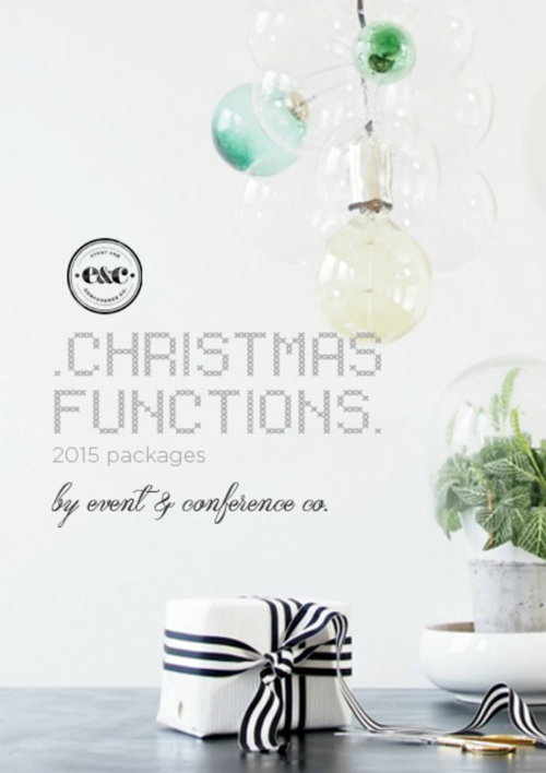 Christmas Functions by Event and Conference Co.