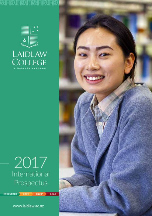 Laidlaw College - International Prospectus 2017