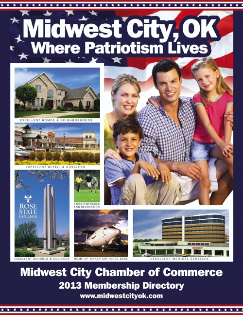Midwest City Chamber 2012-2013 Membership Directory