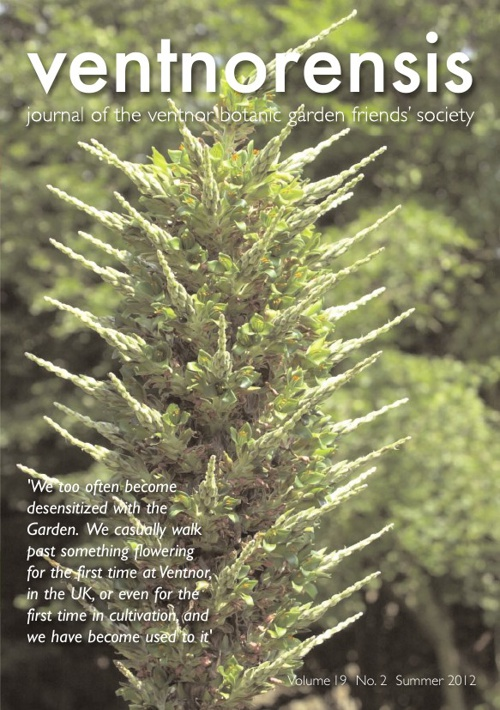 Ventnorensis - Volume 19  No.2 - Summer 2012