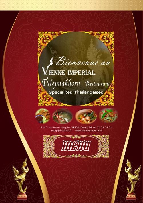 Menu_Vienne Imperial  Restaurant