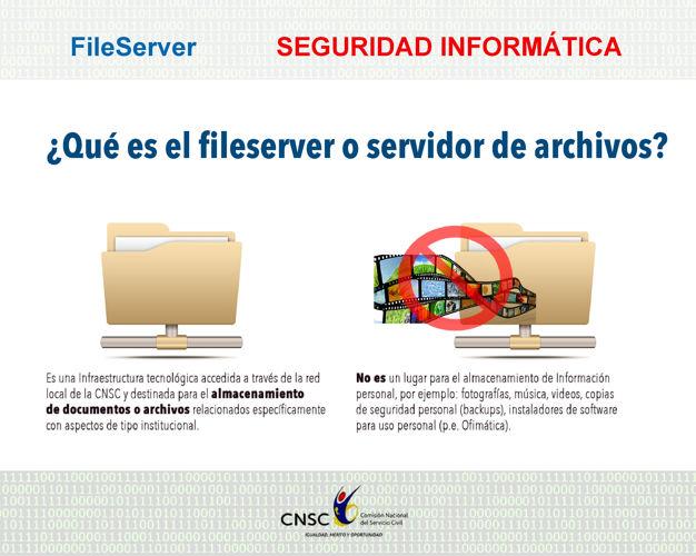 File Server y uso de internet