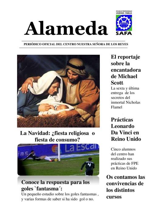 Periódico Alameda - Diciembre 2012