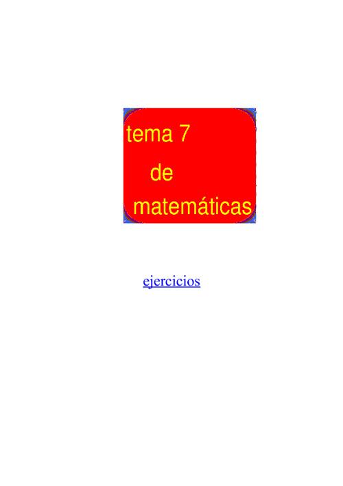 matematica tema 7