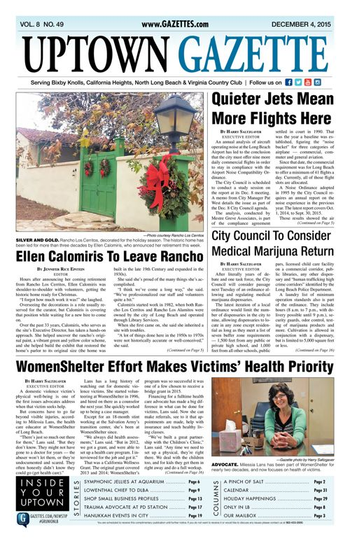 Uptown Gazette  |  December 4, 2015