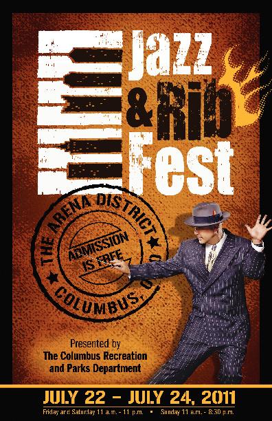 2011 Jazz and Rib Fest Program