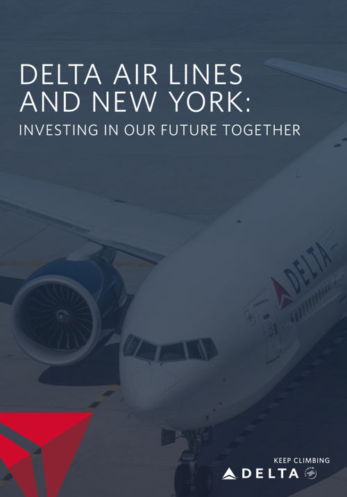 Delta Airlines New York Book - B2B