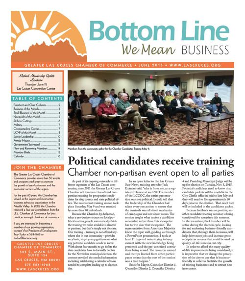 The Bottom Line June 2015