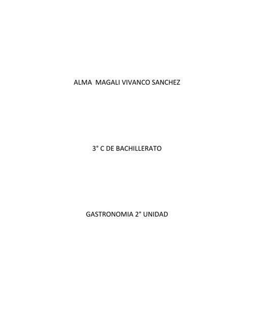 ALMA  MAGALI VIVANCO SANCHEZ