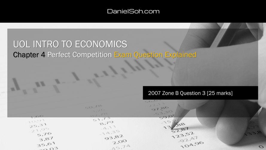 Daniel Soh   UOL INTRO   Exam Question Explained   2007B Q3