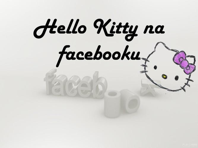 Hello Kity na facebooku