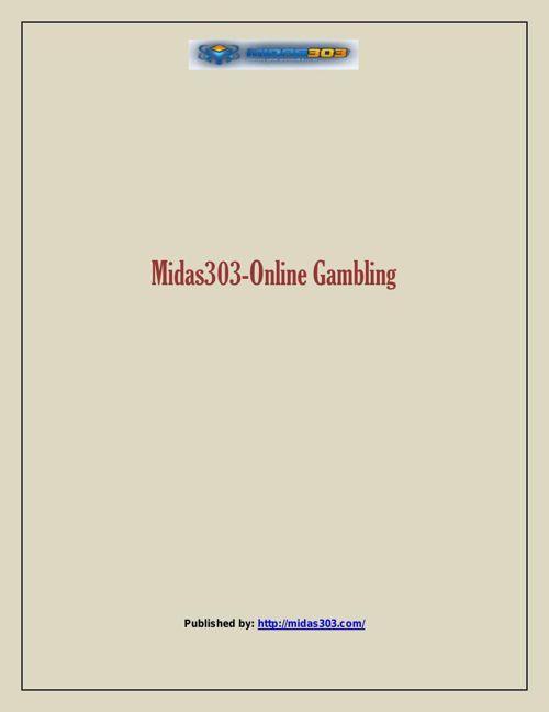 Midas303-Online Gambling