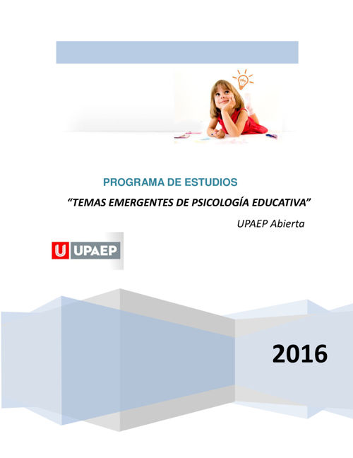 11 PSI729 Temas Emergentesde la Psicología Educativa (1)