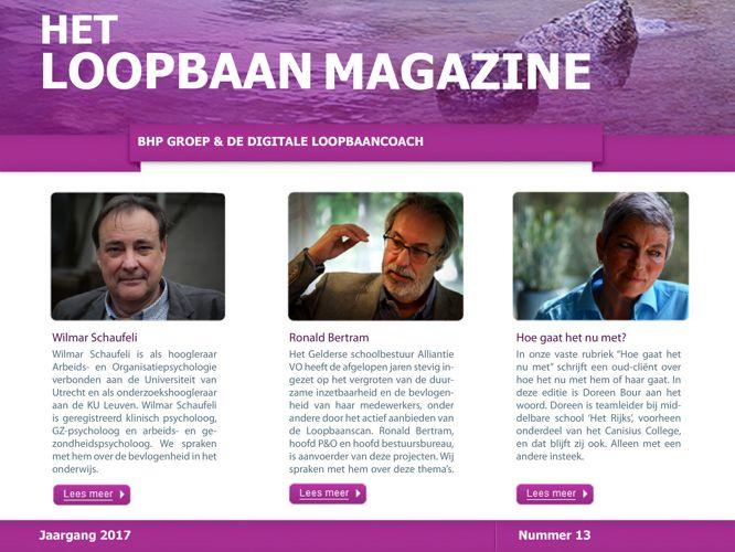 Het Loopbaan Magazine - Bevlogenheid