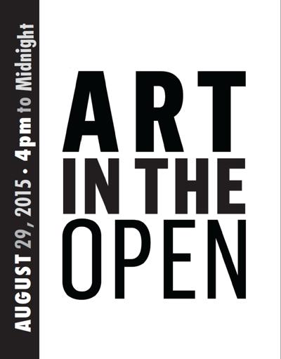ART IN THE OPEN 2015 // ART À CIEL OVERT 2015