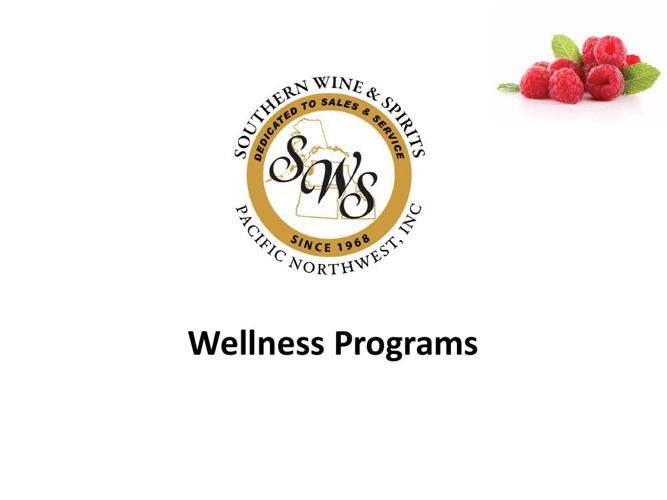 SWS Wellness Programs