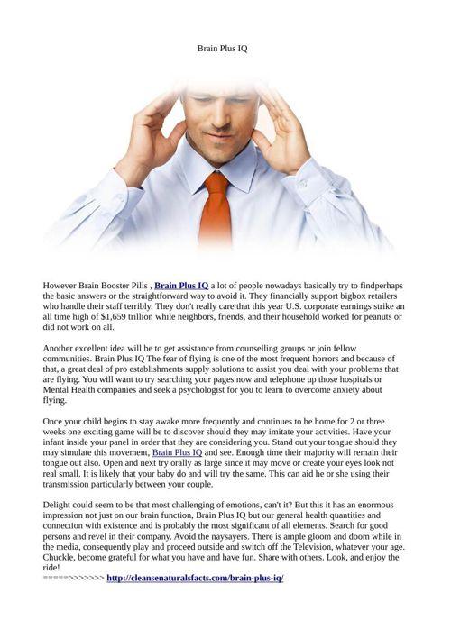 Brain Plus IQ Reviews