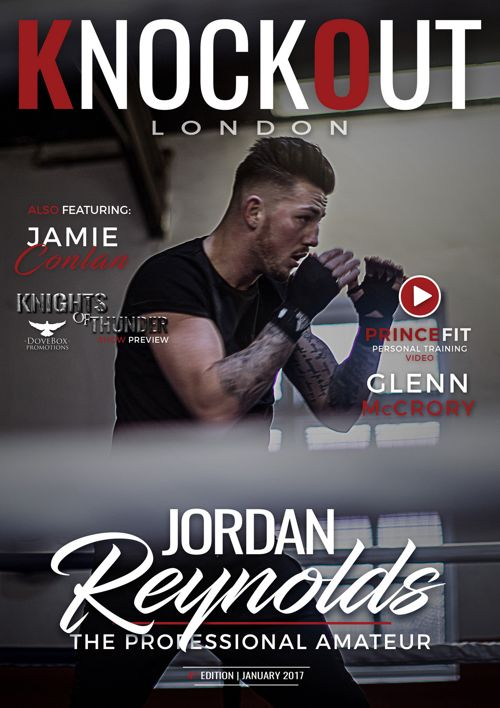KnockOut London Magazine 4 - Jordan Reynolds