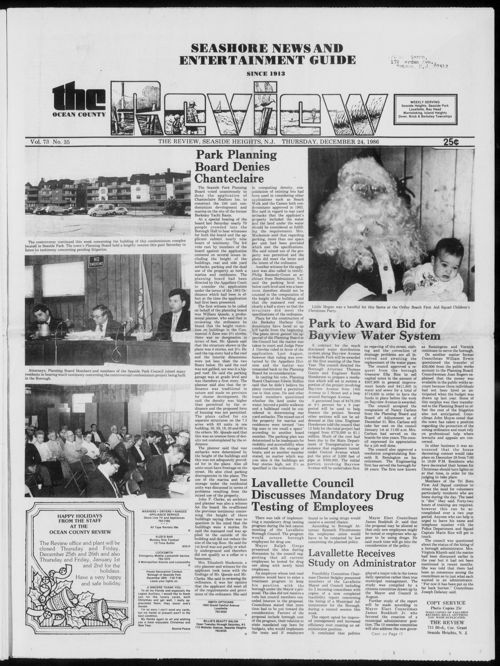 Review December 1986
