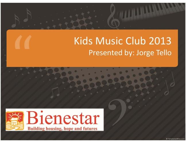 Kids Music Club 2013