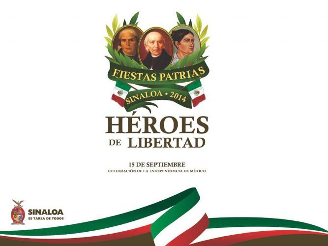 Programa Fiestas Patrias 2014 Sinaloa