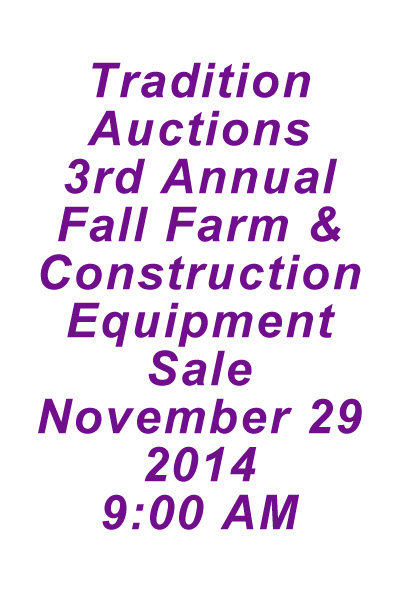 TA 3rd Annual Fall Eq Sale