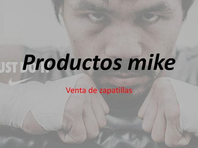 Productos andy h