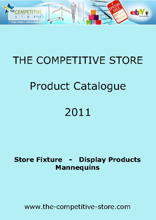 The Competitive Store - 2011 Store Fixture Catalog