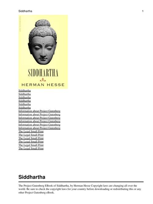 Sidddharta