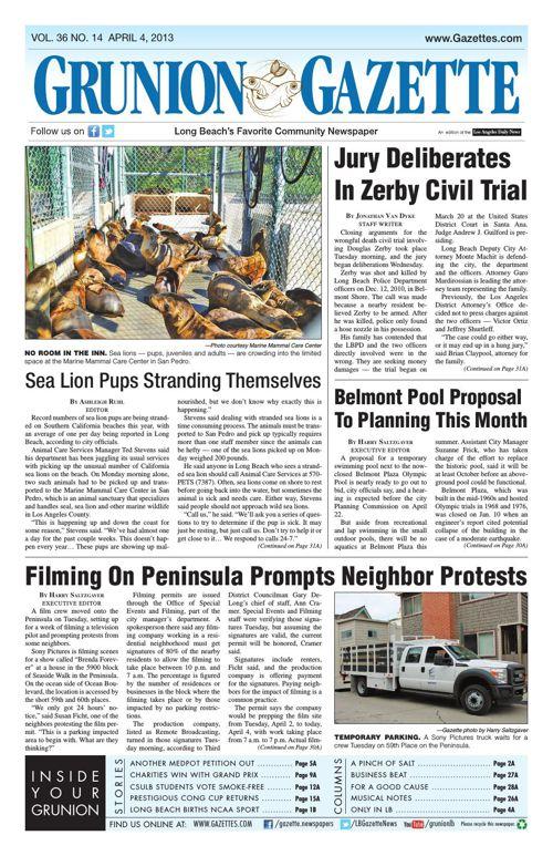 Grunion Gazette | April 4, 2013