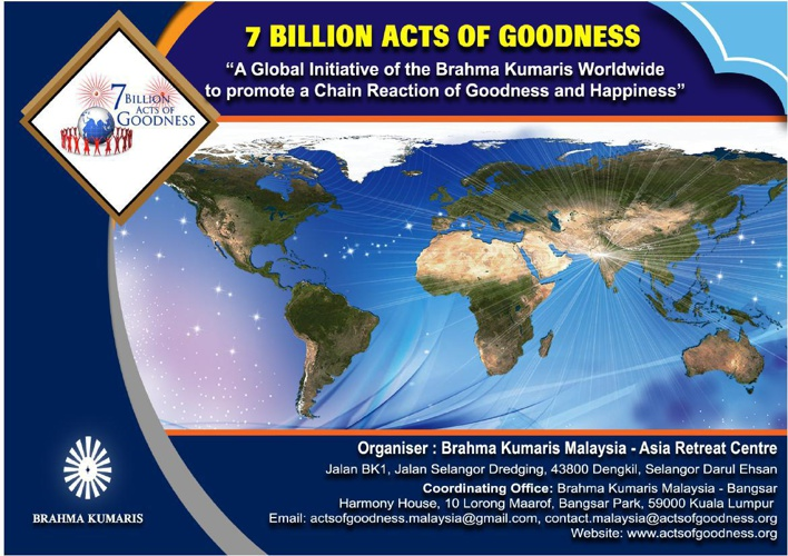 7 Billion Acts of Goodness