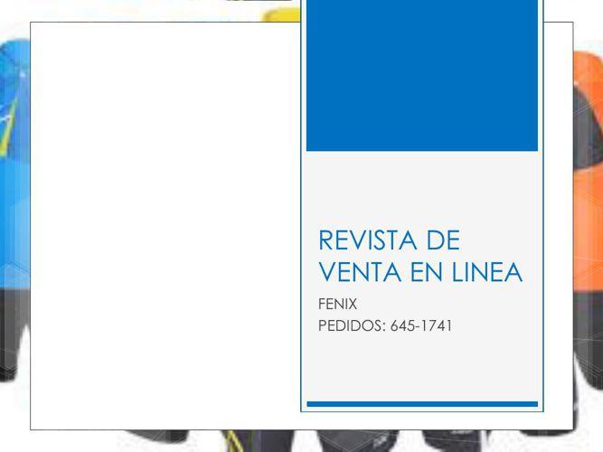 REVISTA DE VENTA EN LINEA