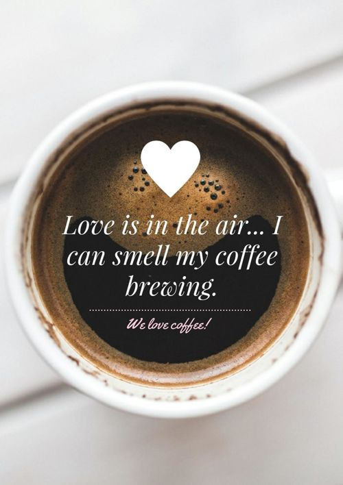 May your coffee be strong!