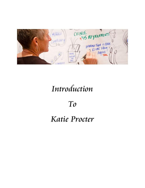 Introduction to Katie Procter October 2014