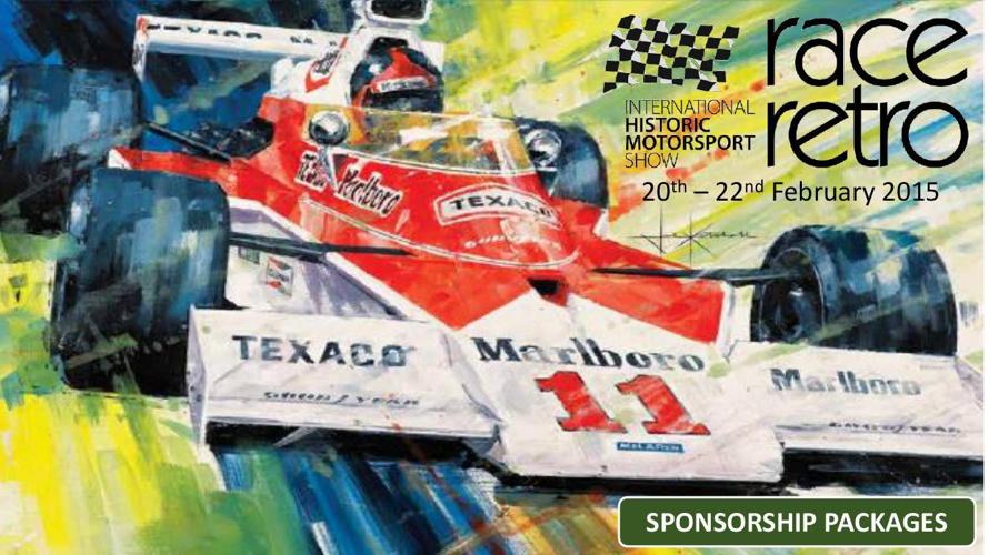 2015 Race Retro Sponsorship Packages