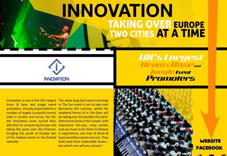 Innovation Drum&Base Promoters Feature