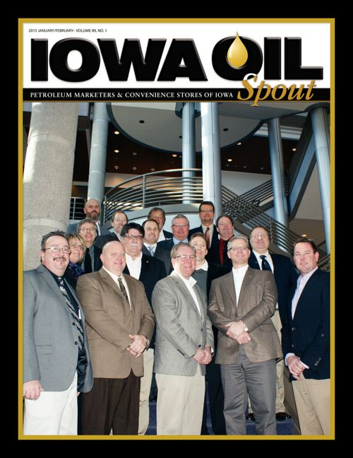 2015 Iowa Oil Spout - January/February