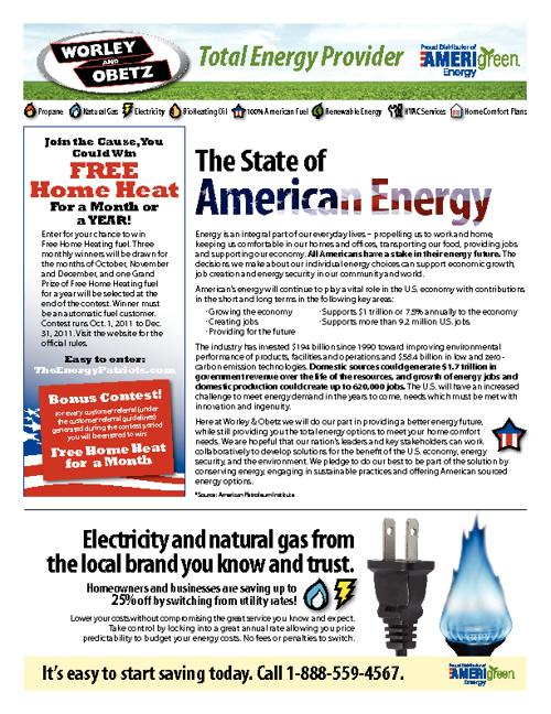 Worley & Obetz Newsletter - Fall 2011
