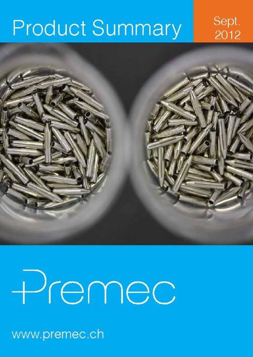 Catalogo Premec 2012
