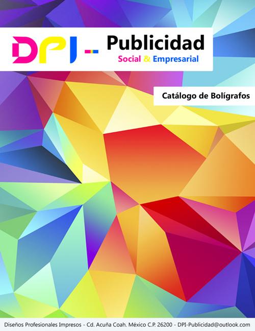 Catalogo DPI Publicidad 2015 - Boligrafos