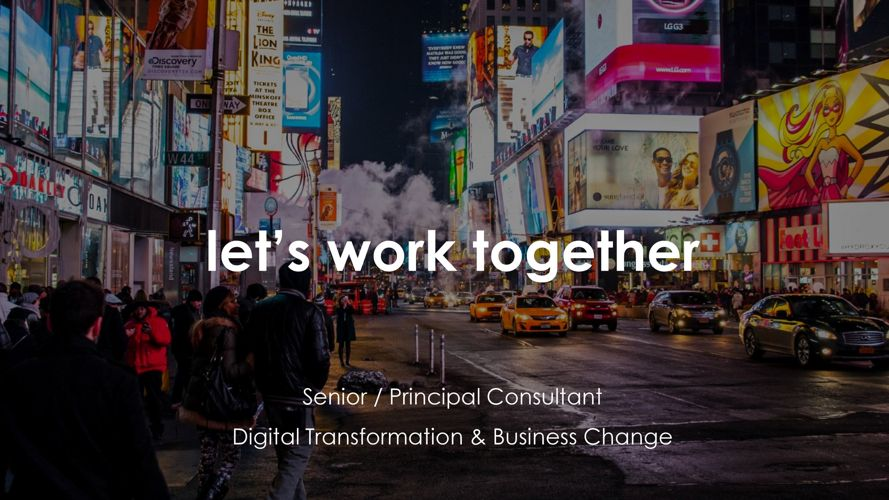 Why Parallel - Digital Change & Transformation Opportunities