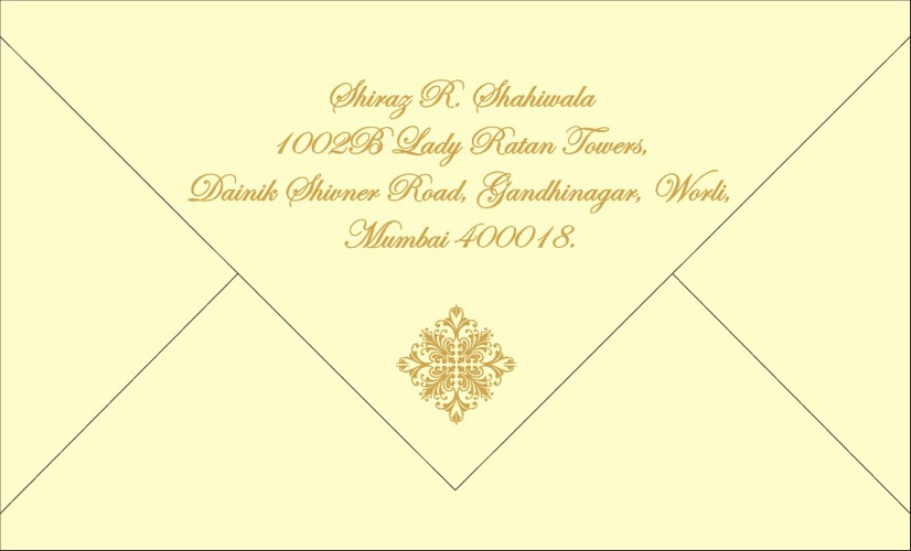 Hafeez's Wedding Invitation Card