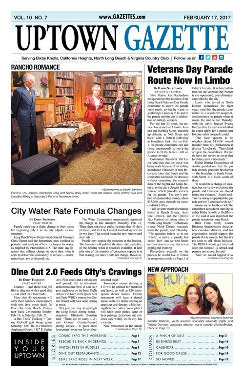 Uptown Gazette  |  February 17, 2017
