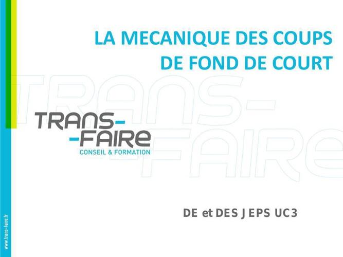 DE 2015 Mecanique coups FDC