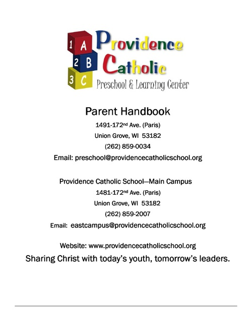 Providence Catholic Preschool & Learning Center