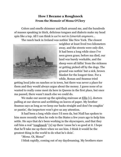 Historical Narrative by Sarah Magruder