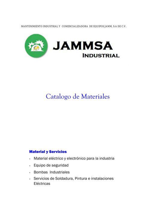 CATALOGOMATERIALES2015JAMMSA-B