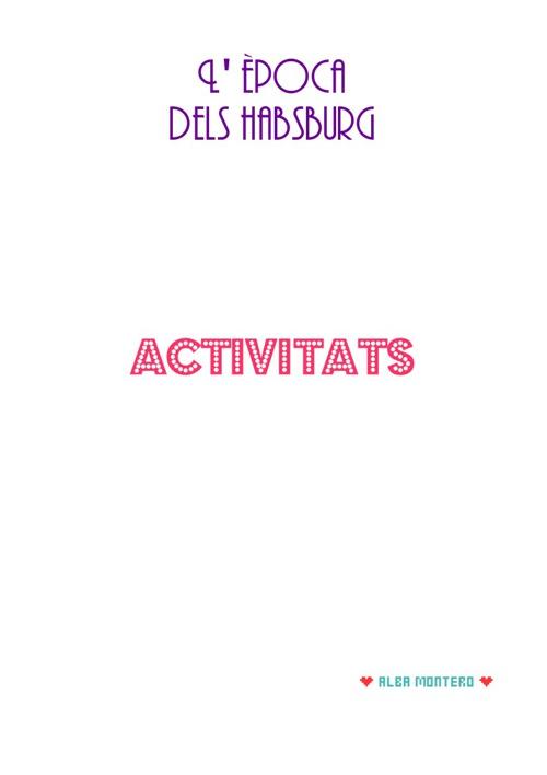 Albaa Montero Activitats