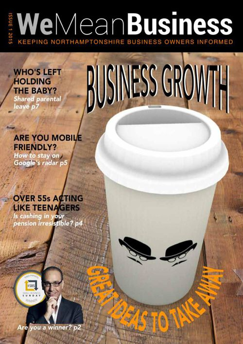 We Mean Business Issue 1
